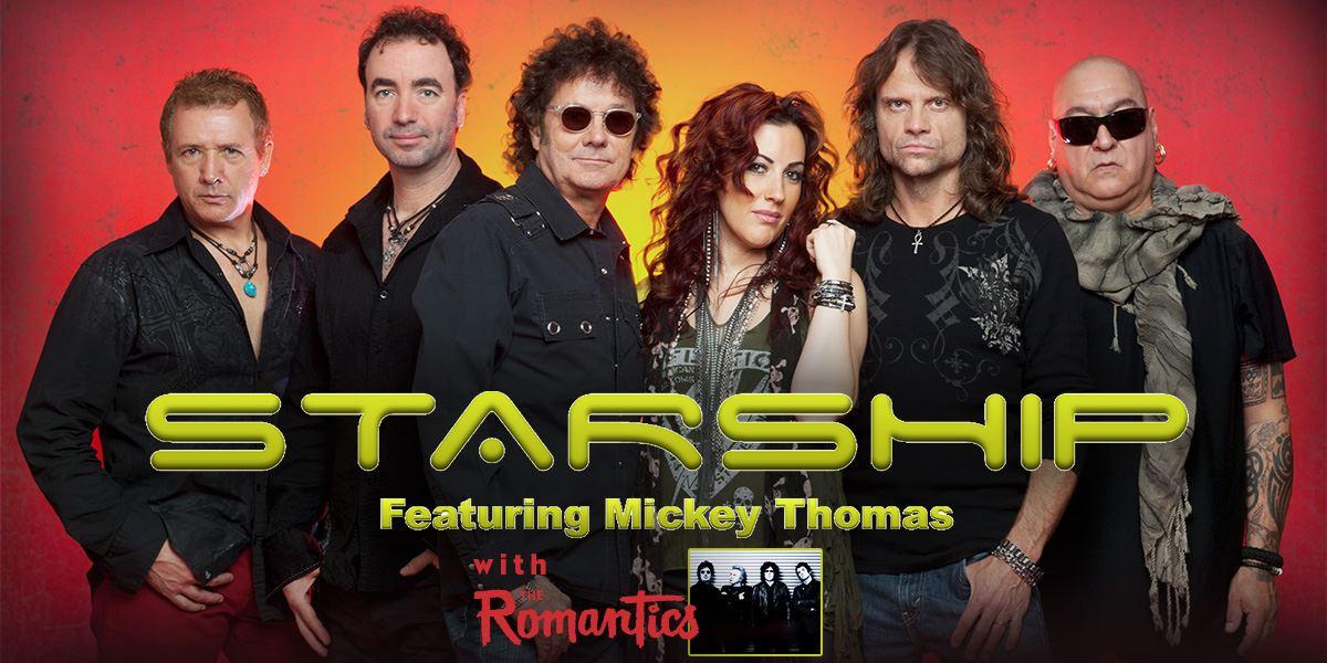 Starship feat  Mickey Thomas with The Romantics