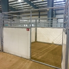 10' x 10' Stalls w/Dirt Floors
