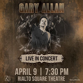 Mammoth and VenuWorks Present Gary Allan at Rialto Square Theatre