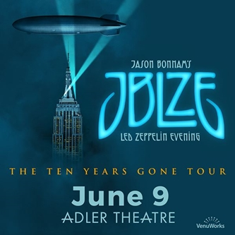 Adler Theatre and VenuWorks present Jason Bonham's Led Zeppelin Evening