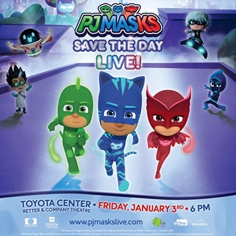 THE PJ MASKS ARE BACK WITH– 'PJ MASKS LIVE! SAVE THE DAY'