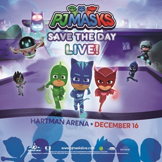 PJ Masks Returns to Hartman Arena with a Whole New Show!