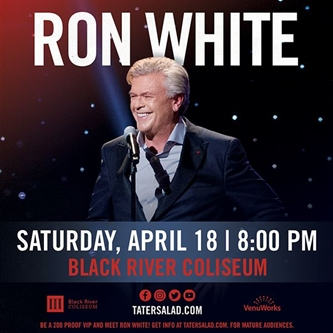 COMEDIAN RON WHITE ANNOUNCES 2020 TOUR