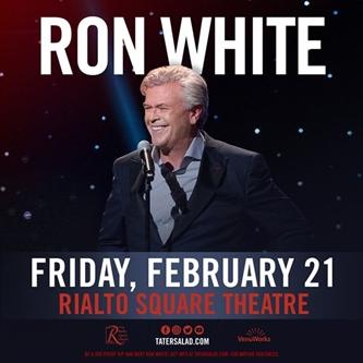 Rialto Square Welcomes Ron White