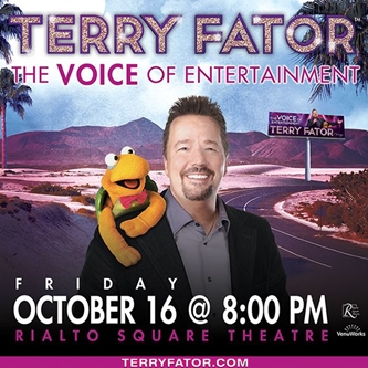 Las Vegas Headliner and America's Got Talent Winner Terry Fator Coming to Rialto Square