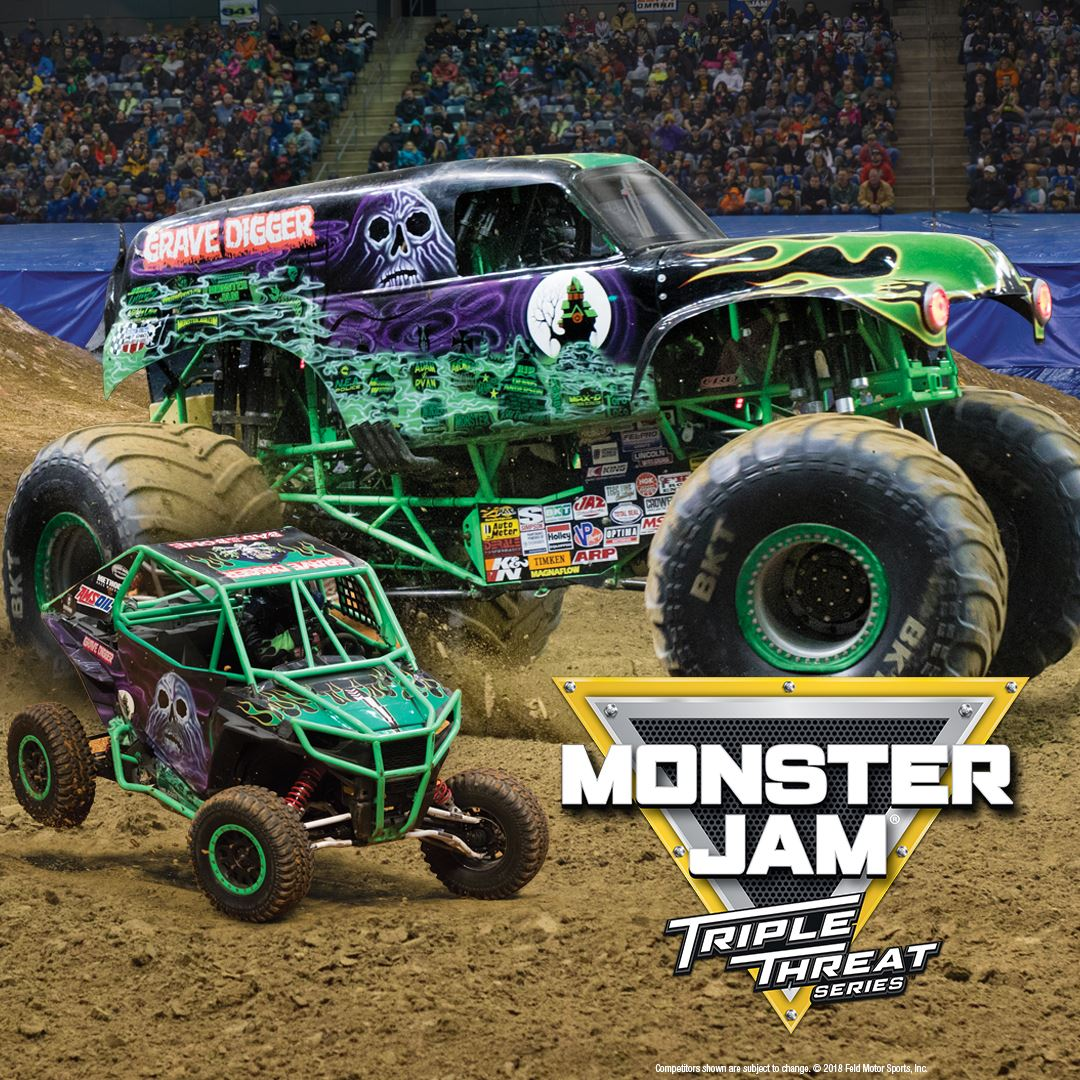 Monster Truck Show 2020.Monster Jam Triple Threat Series
