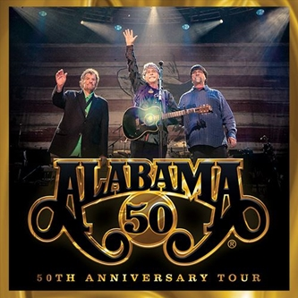 "Alabama Reschedules ""50TH Anniversary Tour"""
