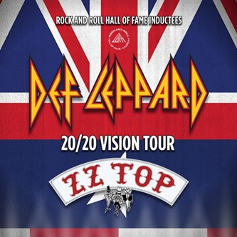 Def Leppard Announce Select Fall 20/20 Vision Tour Dates with Special Guests ZZ Top