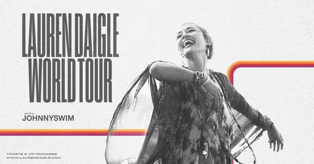 Image result for lauren daigle world tour