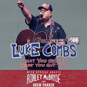 "Luke Combs Announces 2020 ""What You See Is What You Get Tour"""