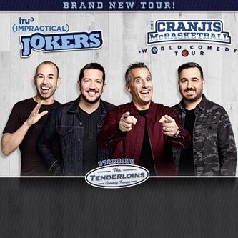 """truTV's Impractical Jokers """"The Cranjis McBasketball World Comedy Tour"""" Starring The Tenderloins"""