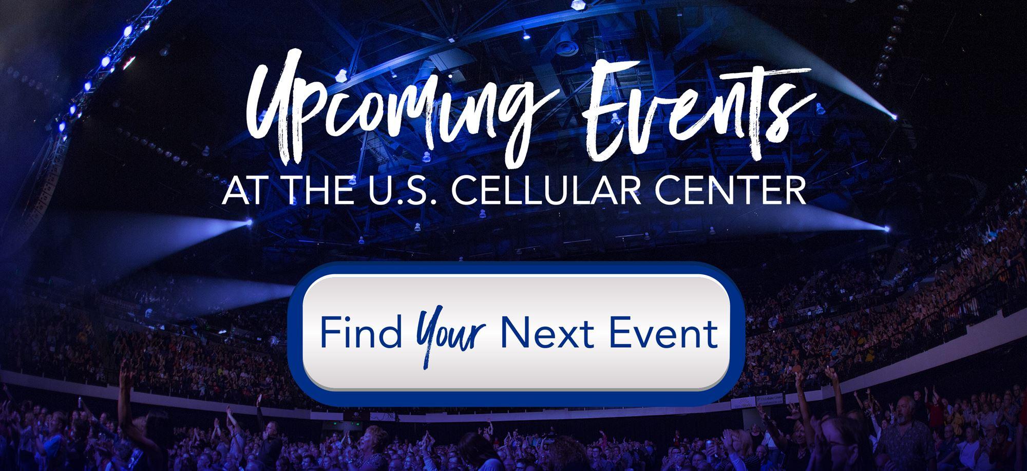 Events at the U.S. Cellular Center in Cedar Rapids, Iowa
