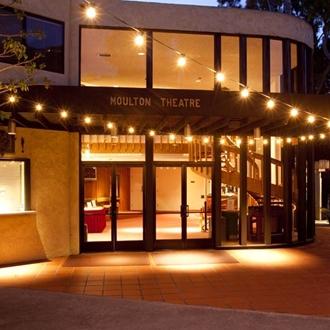 Exterior of Moulton Theatre at The Laguna Playhouse