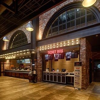 Ticket box office at CGV Cinemas in Buena Park, CA