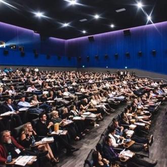 Audience at Newport Beach Film Fest
