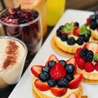 Fruit Tarts at Porto's Bakery in Buena Park, CA.