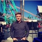 Gordon Ramsey at Knott's Berry Farm in Buena Park, CA