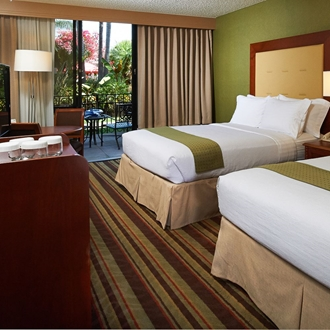 Two bed room at Holiday Inn in Buena Park, CA