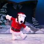 Snoopy on ice at Knott's Berry Farm in Buena Park