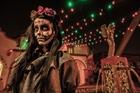 Knott's Scary Farm Dia De Los Muertos Girl