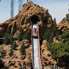 Timber Mountain Log Ride at Knott's Berry Fam in Buena Park, CA