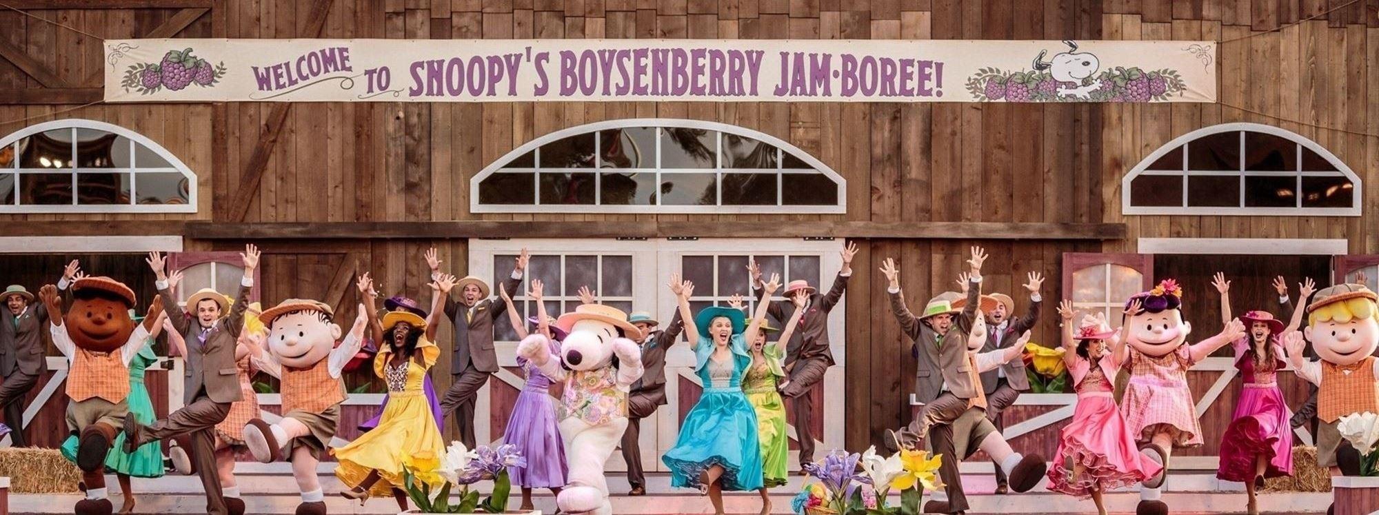 Boysenberry Festival performance at Knott's Berry Farm in Buena Park, CA