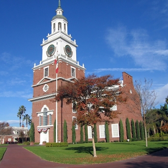 Knott's Independence Hall building in Buena Park