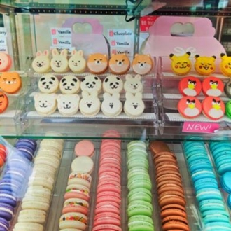 Macarons at Sweetbox at The Source in Buena Park, CA.