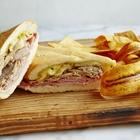 Sandwich from Porto's Bakery in Buena Park, CA.