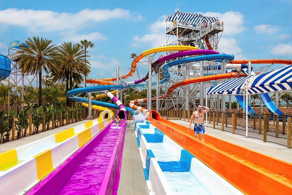 Shore Break Water Ride at Knott's Soak City in Buena Park, CA