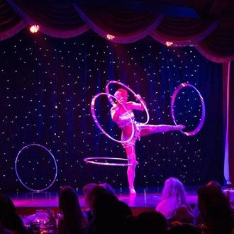 Hoop performance at Teatro Martini in Buena Park, CA.