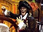 Vampire pirate at Pirates Dinner Adventure in Buena Park, CA