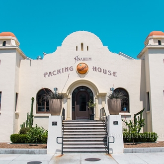 Exterior of Anaheim Packing House