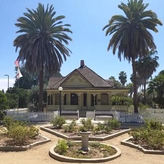 Historical house at Fullerton Arboretum