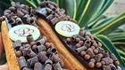 Chocolate eclair at Porto's in Buena Park, CA