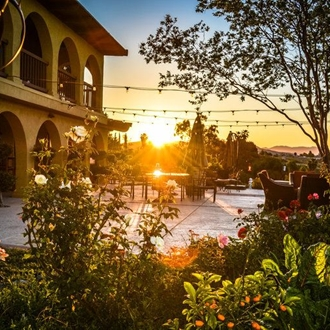 Temecula Valley Wine Tasting at Europa Winery at Sunset
