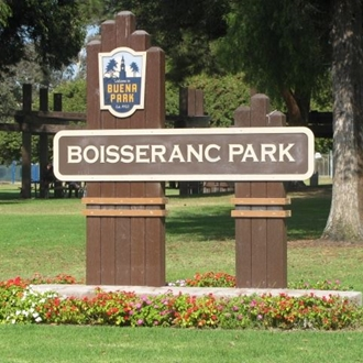 Sign that says Boisseranc Park
