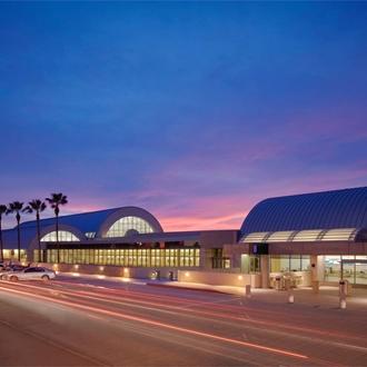 Airport building at John Wayne Airport