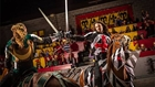Knights sword fighting at Medieval Times in Buena Park