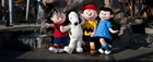 Peanuts gang at Knott's Berry Farm in Buena Park