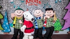 Peanuts gang in holiday costumes at Knott's Merry Farm in Buena Park, CA