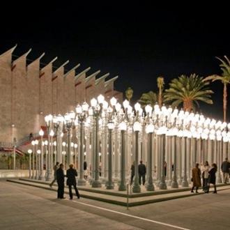 Lightpoles at LACMA