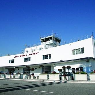 Exterior of Long Beach Airport