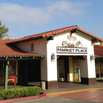 Marketplace building at Knott's Berry Farm in Buena Park