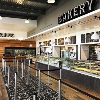 Portos bakery interior sign at Portos in Buena Park, CA