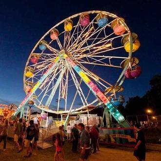 Ferris Wheel at Silverado Days in Buena Park