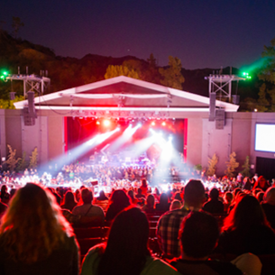 Outdoor concert hall at The Greek Theater