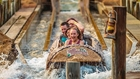 Timber Mountain Log Ride at Knott's Berry Farm in Buena Park