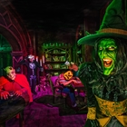 Monsters in a maze at Knott's Scary Farm in Buena Park