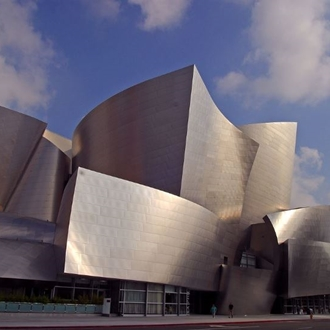 Exterior of Walt Disney Concert Hall